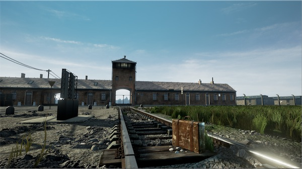 virtual reality witness auschwitz